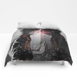 Mirror Crack Comforters