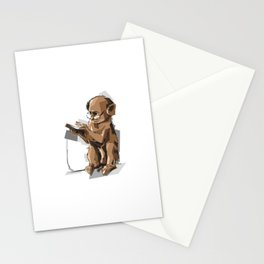 Baby Monkey Text'n Stationery Cards