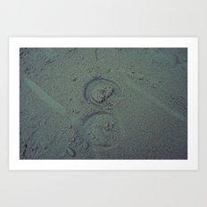 Nautica: Hoof Prints Art Print