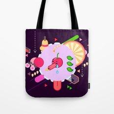 Tasty Visuals - Cherry Poppin' (No Grid) Tote Bag