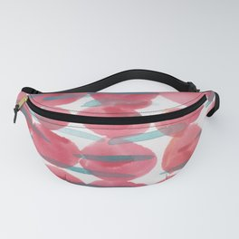 31    | 190408 Red Abstract Watercolour Fanny Pack