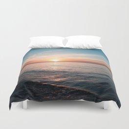 Hawaii sunset Duvet Cover