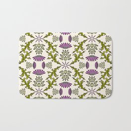 Wild Thistle Meadow Bath Mat