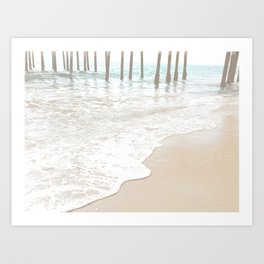 Huntington Beach Wave // California Ocean Sandy Beaches Surf Country Pacific West Coast Photography Art Print