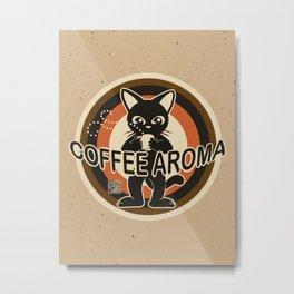 Coffee aroma Metal Print