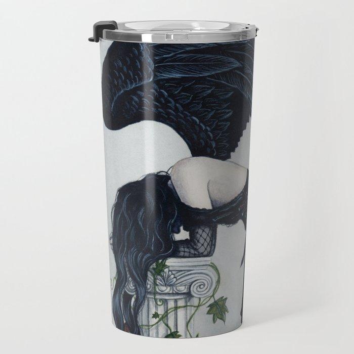 Despair Gothic Angel Travel Mug