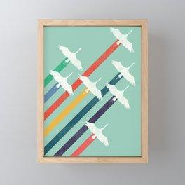 The Cranes Framed Mini Art Print