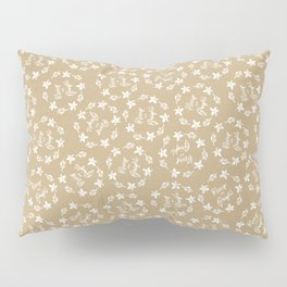 Craft paper Christmas Merry and Bright Pillow Sham