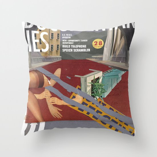 Vans and Color Magazine Customs Throw Pillow
