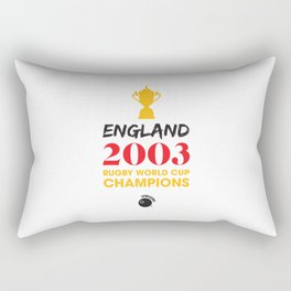 Rugby World Cup Champions — England Rugby Union side (The Red and Whites) Rectangular Pillow