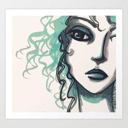 A Sidelong Look ...  Art Print
