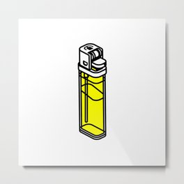 The Best Lighter Metal Print