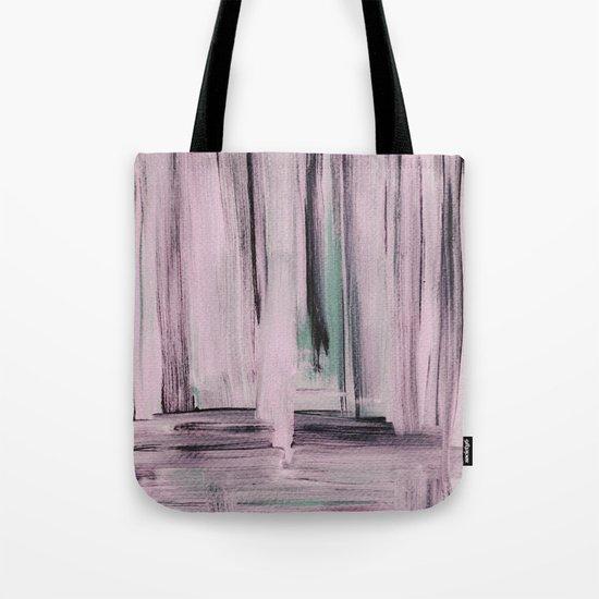 Rose et Vert Tote Bag