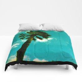 Summer Palm Tree Comforters