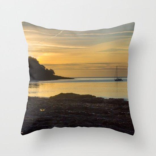 Sunrise Pendennis Point Falmouth Throw Pillow