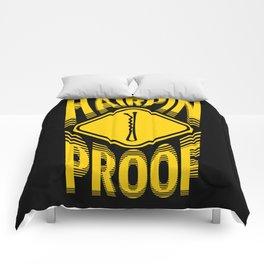 Hairpin Proof Comforters