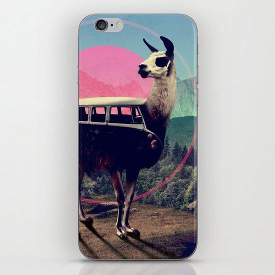 Llama iPhone & iPod Skin
