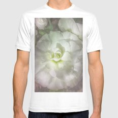 Begonia Pure Mens Fitted Tee White MEDIUM