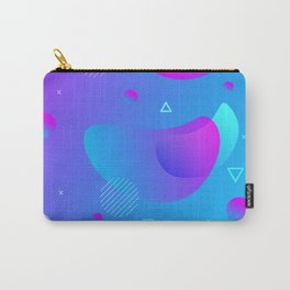 80s 90s Memphis Retro Pattern #5 Carry-All Pouch