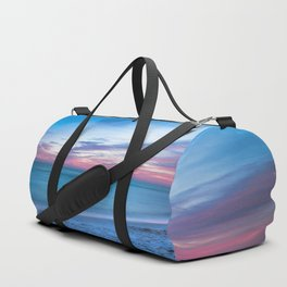 If By Sea - Sunset and Emerald Waters Near Destin Florida Duffle Bag