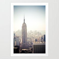 New York City | Empire State Building Art Print