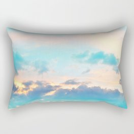 Unicorn Pastel Clouds #4 #decor #art #society6 Rectangular Pillow