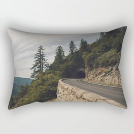 Yosemite Tunnel  Rectangular Pillow