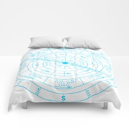 Stormy North Comforters