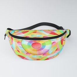 Neon Circus Fanny Pack