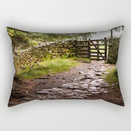 The Path at Blea Tarn Rectangular Pillow