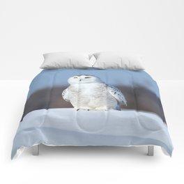 My favorite snowman Comforters