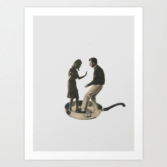 Shake Art Print