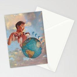 The World Needs Something Stationery Cards