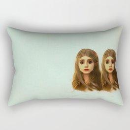Be Like Your Twin Rectangular Pillow