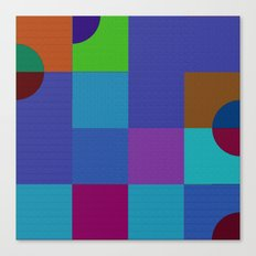 b 1 1 1 - b 3 3 3 Canvas Print
