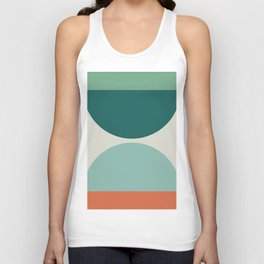 Abstract Geometric 20 Unisex Tank Top