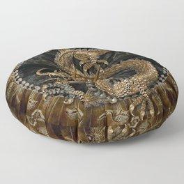 Dragon Pentagram Floor Pillow
