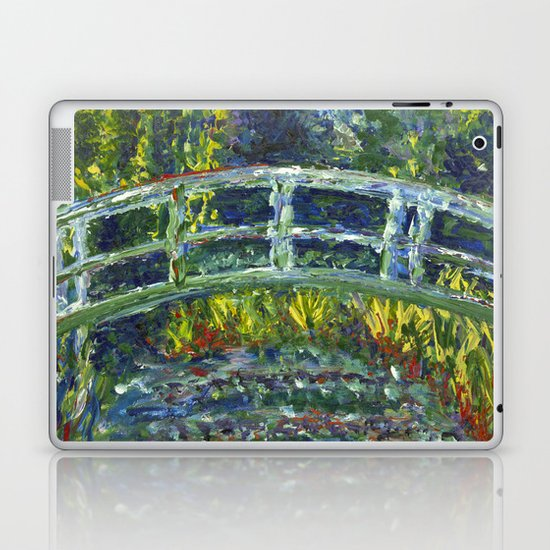 Monet Interpretation Laptop & iPad Skin