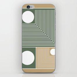 Stylish Geometric Abstract iPhone Skin