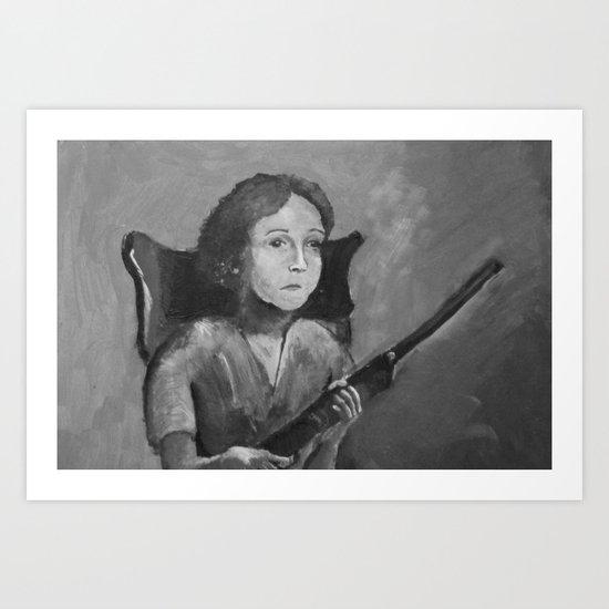 Loretta. Art Print