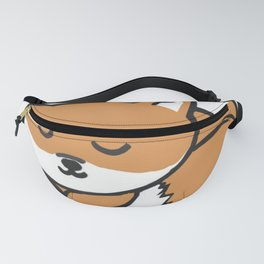 Sleeping Kawaii Fox Fanny Pack