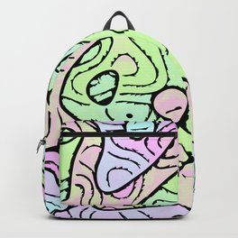 Funky Abstract 5 Backpack