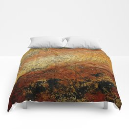 Beach Stone Abstract Comforters