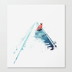 From nowhere to nowhere Canvas Print