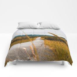 The Roadside Path (Color) Comforters