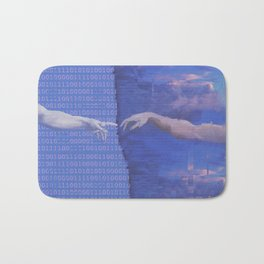 Ancient Technology Bath Mat