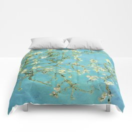 Vincent Van Gogh Almond Blossoms Comforters
