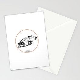 Crazy Car Art 0122 Stationery Cards