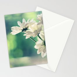 White Daisies - Simplicity Stationery Cards