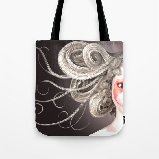 Japanese fashion model Tote Bag